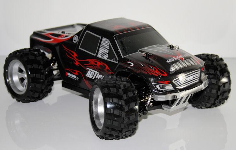 rc 2 4 ghz monster truck vortex pro 4wd ferngesteuertes. Black Bedroom Furniture Sets. Home Design Ideas
